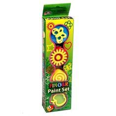 Four Pot Finger Paint Set