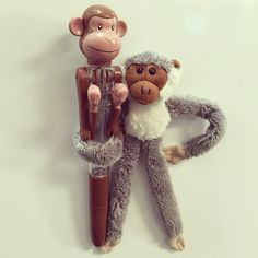 Office monkeys! #oxbridgeacademy #oxbridgeacademysa #obi #distancelearning #collegemascot #mascot #studybuddy #support