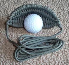 Paracord 550 Honda de bola de Golf por TurtleBoyCreations en Etsy