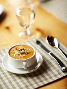 Crab bisque--with a secret healthy ingredient