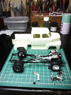 New Ford crew cab dually by TRJ Hobby Rc Cars, Lowrider Model Cars, Model Cars Building, Truck Scales, Car Kits, Custom Hot Wheels, Plastic Model Cars, Model Cars Kits, Drag Cars