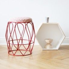 Undulate Stool by Indigi Designs Stool, African, Traditional, Contemporary, Table, Furniture, Design, Products, Home Decor