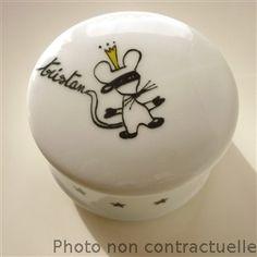 boite à dents de lait porcelaine personnalisable