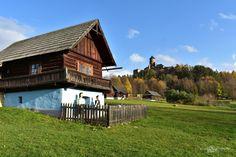 Kvíz – Spoznajte Ľubovniansky hrad a skanzen Places To Visit, Deck, Cabin, House Styles, Outdoor Decor, Photos, Home Decor, Pictures, Decoration Home