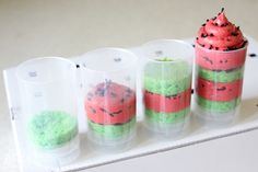 DIY watermelon Push Pops Tutorial