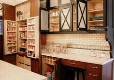 kitchen and pantry in one | Kitchen Pantry Ideas