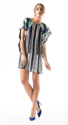 New Arrivals: Clover Canyon Jaipur Jungle Dress [$235 at Perch]