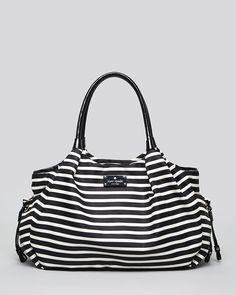 Kate Spade New y+York Baby Bag - Nylon Stripe Stevie