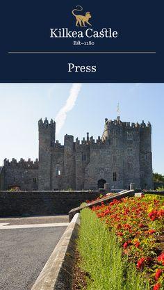 Kilkea Castle in the Media: Get Pampered at Ireland's Fabled Kilkea Castle.