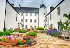 Logie Country House  - Castle-style large house with towers and 13 bedrooms, set on a beautiful Aberdeenshire country estate.