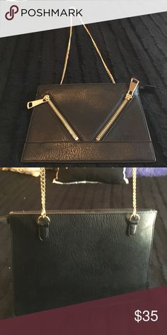 Missguided Purse purse with chain strap that converts into a clutch, never been used Missguided Bags Shoulder Bags