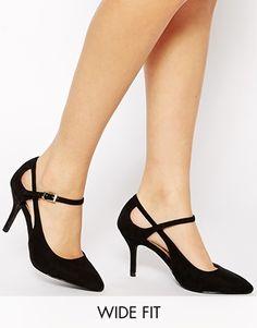 ASOS - SAILOR - Chaussures pointues grande largeur à talon