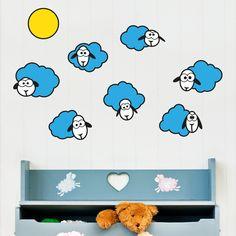 Cloud Sheep Wall Decal