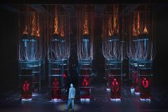 Faust from Opera Nazionale Olandese Amsterdam. Production by Àlex Ollé (La Fura dels Baus). Sets by Alfons Flores.
