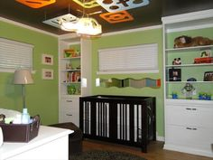 Green and Brown Graphic Nursery