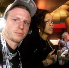 This selfie with Rihanna that she was just not that happy to be in. | 28 Things So Gloriously Awkward You Won't Be Able To Look Away