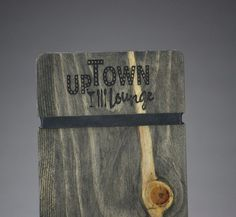 UCP specializes in creating high quality and great value custom promotional productions. Check Presenter, Fort Collins, Fine Dining, Bottle Opener, Menu, Restaurant, Rustic, Wood, Unique