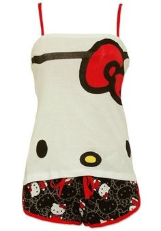 I want only Hello Kitty PJs and a Hello Kitty robe... got them! - Emma