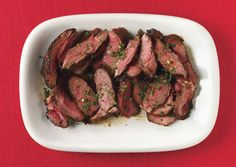 Grilled Leg of Lamb with Ancho Chile Marinade