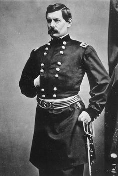 General George McClellan:  What a failure he was! Great at training and parading, but completely lost his nerve when he was faced with sending men into battle. Probably did a great deal to extend the conflict through his inaction. He drove Lincoln to distraction.