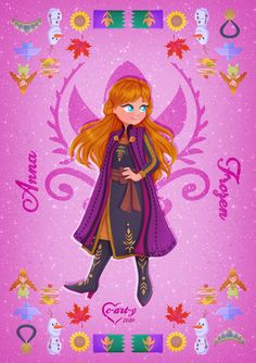 Disney Princess Pictures, Disney Princess Art, Disney Fan Art, Princess Anna, Disney Princesses, Old Disney, Disney Love, Arte Disney, Disney Magic