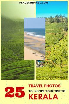 25 Awe-Inspiring Travel Photos from Kerala — #india #photography #photoblog #kerala #travelphotography || Kerala Travel photos || Kerala Travel guide || Kerala Travel inspiration || Kerala Travel photography Kerala Travel, India Travel, Places To Travel, Travel Destinations, Kerala Backwaters, Plan Your Trip, Adventure Travel, Travel Photos, Kerala India