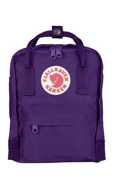 Fjallraven Kånken Kids Backpack Purple
