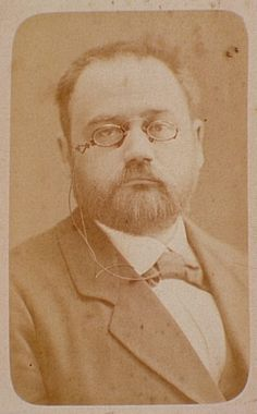 Émile Zola by Felix Nadar, French Photographer (1820 - 1910). S)
