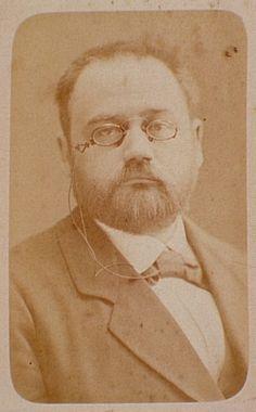 Émile Zola by Felix Nadar, French Photographer (1820 - 1910). S)