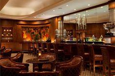 The 20 Best Hotel Bars in America - The Sazerac Bar in The Roosevelt New Orleans (New Orleans)
