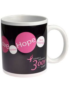 Black 3-Day Coffee Mug at Shop3day.com.