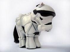 My Little Stormtrooper Pony
