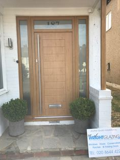 Check out our latest Solidor Install in Cheam Surrey. A Palermo in Irish Oak with matching frames. Official installer for the Door brand in the UK We get it right at Wright Glazing Doors, Sliding Door Window Treatments, Door Makeover, Front Doors Uk, Front Door Makeover, Entry Door Colors, Oak Exterior Doors, Sliding Door Design, House Front