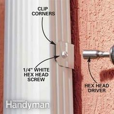 Create stronger, better-looking gutters by modifying standard gutter systems. assemble strong, sleek-looking seams; and add roof flashing to keep water flowing into the gutters where it belongs. House Gutters, Diy Gutters, Roof Flashing, How To Install Gutters, Diy Porch, Diy Deck, Home Fix, Workshop Storage, Home Repairs