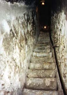 """Secret Tunnels Under Healy Hall  Some of you may have heard of the famed (but nonexistent) fifth floor of Healy Hall. Some of you may have heard of a """"young Jesuit student [who] accidentally opened the Gates of the Underworld when reading"""