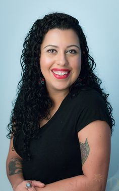 Iris Benson, Brow extension specialist, lash artist, and licensed esthetician.