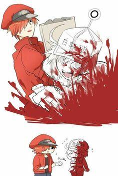 Oo i like this anime Manga Anime, Otaku Anime, Anime Art, Hiro Big Hero 6, Blood Anime, White Blood Cells, Happy Tree Friends, Estilo Anime, Work Memes