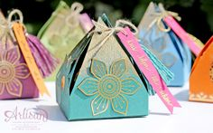 Eastern Palace - Stampin Up - Box mit Orientpalast - Artisan Sylwia Schreck