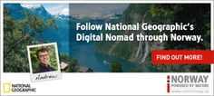 Follow National Geographic's Digital Nomad to learn more about your next Norwegian adventure.
