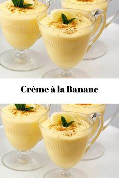 Easy Smoothie Recipes, Easy Smoothies, Good Healthy Recipes, Snack Recipes, Dessert Recipes, Mousse Dessert, Desserts With Biscuits, Köstliche Desserts, Pudding