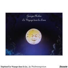 Digitized Le Voyage dans la Lune 16x12 Photo Print