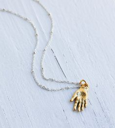 HAND Charm NECKLACE