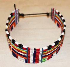 AFRICAN MAASAI MASAI BIG BEADED ETHNIC CHOKER NECKLACE JEWELRY - KENYA #55 | eBay 41,30€