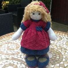 MYSTERY DOLL KAL was held in prawelewe group in October 2016. These cuties were made during this event (-: