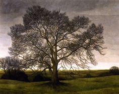 Svend Hammershøi (Danish, 1873-1948), Landscape, 1901