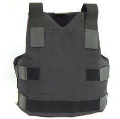 Advanced Survivor » Soft Body Armor-Level II Refurbished-Blk-XL.  100% Twaron Aramid Vests – VERY flexible, comfortable, and concealable.