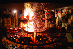 Art of the Parrilla - Saveur.com. So my daughter has been studying abroad in Argentina and also visited Uruguay. She raved about the asados and meat and this is the perfect article about it.