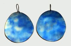 large titanium earringsfor her by atermono on Etsy, €28.00