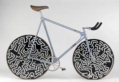 Keith Haring Cinelli Lazer pursuit bike - 1987