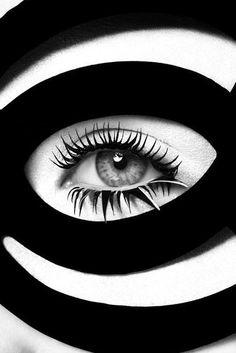 John Rankin Waddell, black + white color combination
